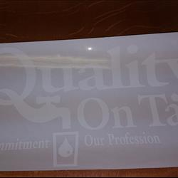 QOT Large Decal 1 Color